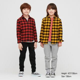 KIDS Kids Flannel Checkeded Long-Sleeve Shirt