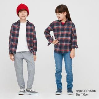 KIDS Kids Flannel Checked Long-Sleeve Shirt