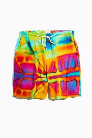 MEN The Silted Company Coffin Tie-Dye Short