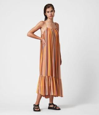 WOMEN Paola Stripe Dress