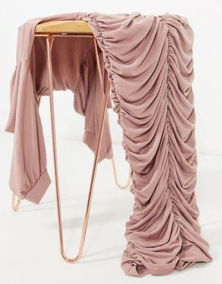 WOMEN AX Paris ruched midi dress in taupe