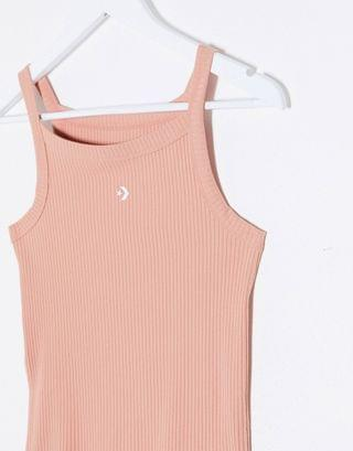 WOMEN Converse star chevron tank top in rose gold
