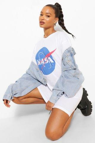 WOMEN Nasa Logo T Shirt Dress