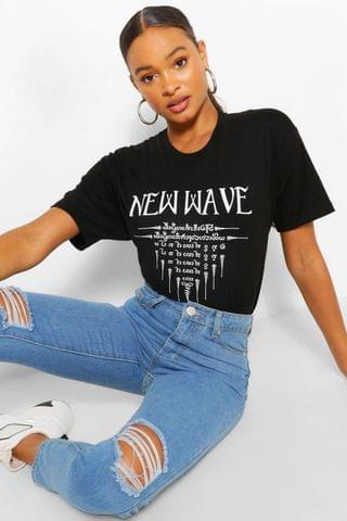 WOMEN New Wave Graphic T-Shirt