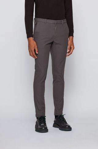 MEN Slim-fit pants in travel-friendly stretch twill