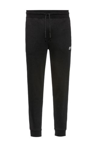 MEN Cuffed jogging pants in cotton with new-season logo