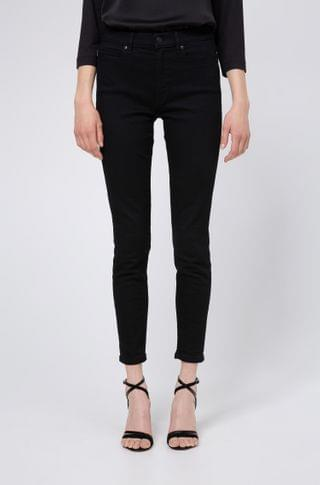 WOMEN CHARLIE super-skinny-fit cropped jeans with side-slit hems
