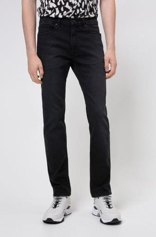 MEN Slim-fit jeans in black-black denim