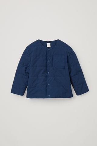 KIDSS ORGANIC COTTON QUILTED JACKET