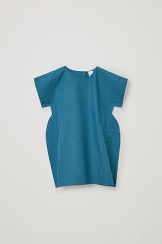 KIDSS SHORT-SLEEVED COTTON DRESS