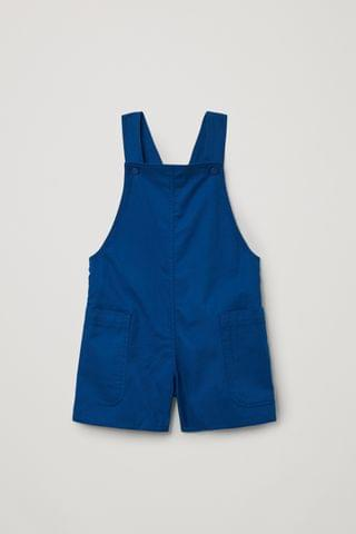 KIDSS ORGANIC COTTON UTILITY-STYLE OVERALLS