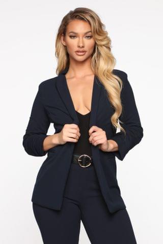 WOMEN The Celine Blazer - Navy