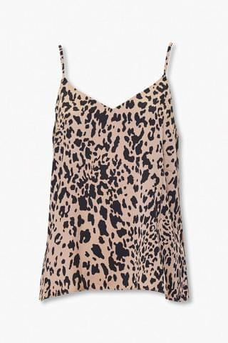WOMEN Cheetah Print Cami