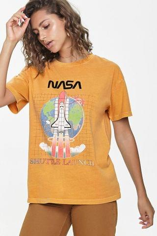 WOMEN NASA Shuttle Launch Graphic Tee