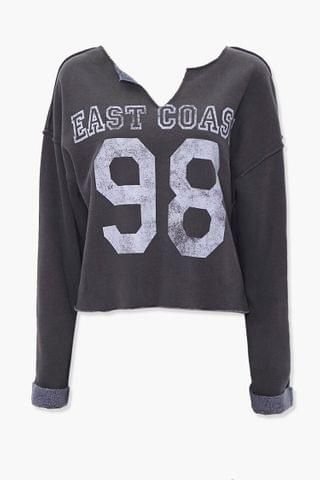 WOMEN East Coast Graphic Pullover