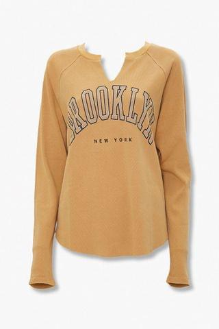 WOMEN Brooklyn New York Graphic Top