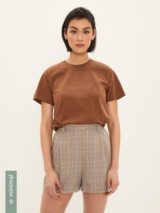 WOMEN The Essential Tee in Brown