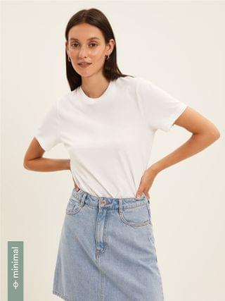 WOMEN The Essential Tee in Bright White