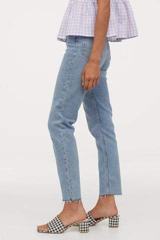 WOMEN Mom High Ankle Jeans