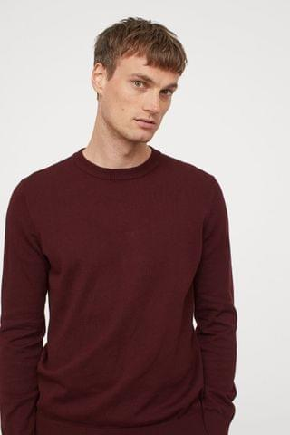 MEN Fine-knit Sweater