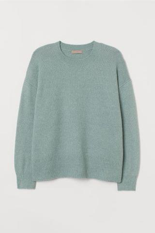 WOMEN H&M+ Fine-knit Sweater