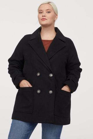 WOMEN H&M+ Short Coat
