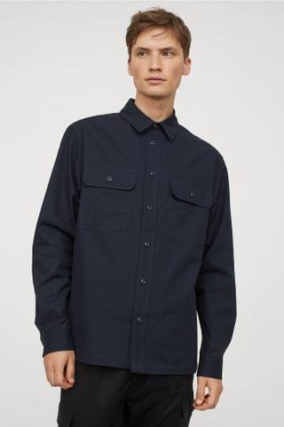 MEN Cotton Twill Shirt