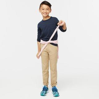 KIDS Boys' long-sleeve pocket T-shirt in slub cotton