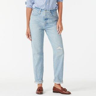 WOMEN Slouchy boyfriend jean in Cowboy wash
