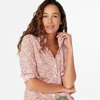WOMEN Slim perfect shirt in Liberty Phoebe floral