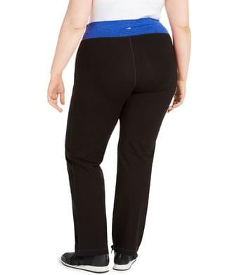 WOMEN Plus Size Flex Stretch Active Yoga Pants, Created for Macy's