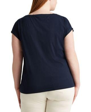 WOMEN Plus-Size Boatneck T-Shirt