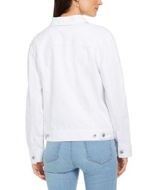 WOMEN Denim Trucker Jacket, Created for Macy's