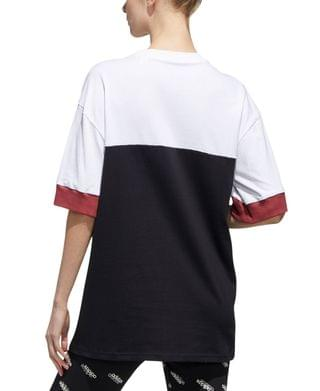WOMEN New Authentic Cotton Colorblocked Top