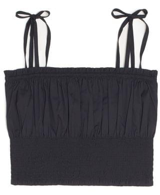WOMEN Plus Size Smocked Tank Top, Created for Macy's