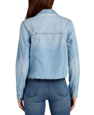 WOMEN Sam Edelman The Janis Cropped Denim Jacket
