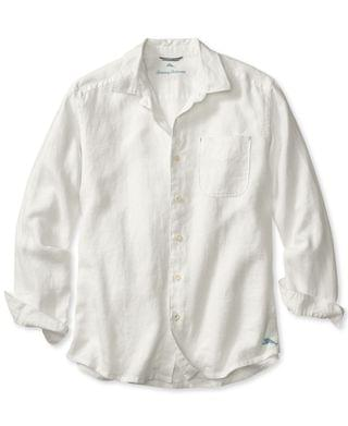 MEN Men's Sea Glass Breezer Classic-Fit Linen Shirt