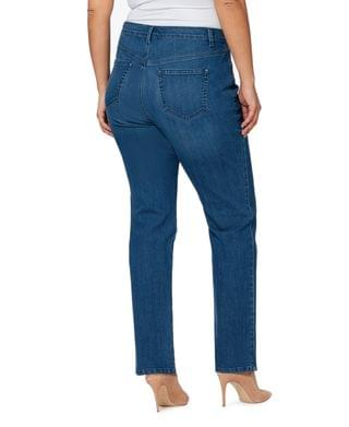 WOMEN Trendy Plus Size Amanda Tapered Jeans