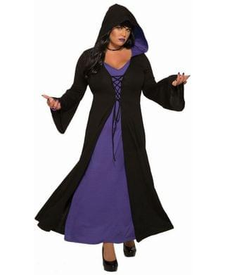 MEN Women's Madame Mysterious Plus Adult Costume