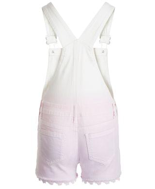 KIDS Big Girls Dip-Dye Shortalls