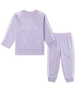 KIDS Toddler Girls 2-Pc. Tricot Jacket & Jogger Pants Track Set