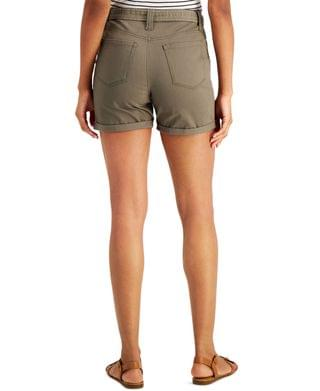 WOMEN Petite Utility Shorts, Created for Macy's