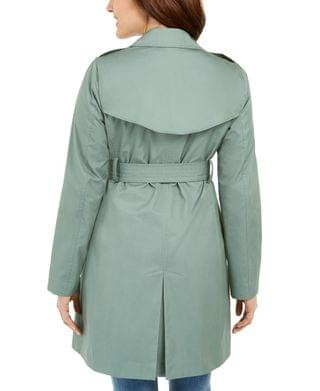 WOMEN Petite Classic Trench Coat, Created for Macy's
