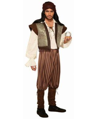 MEN Men's Fortune Teller Woodland Fortune Teller Adult Costume