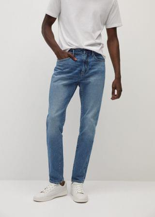 MEN Tapered-fit soft lyocell touch Tom jeans