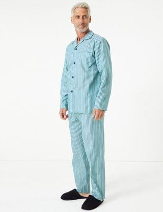 MEN Striped Pyjama Set