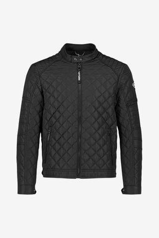 MEN Replay Black Biker Jacket