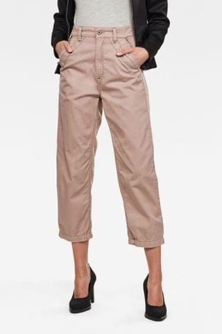 WOMEN G-Star Pink Army City Mid Boyfriend Straight Trousers