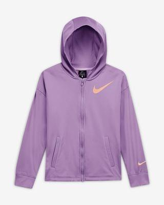 KIDS Big Kids' (Girls') Full-Zip Hoodie Nike Therma