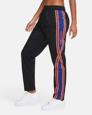 WOMEN Women's Nike NBA Tracksuit Pants New York Knicks Courtside